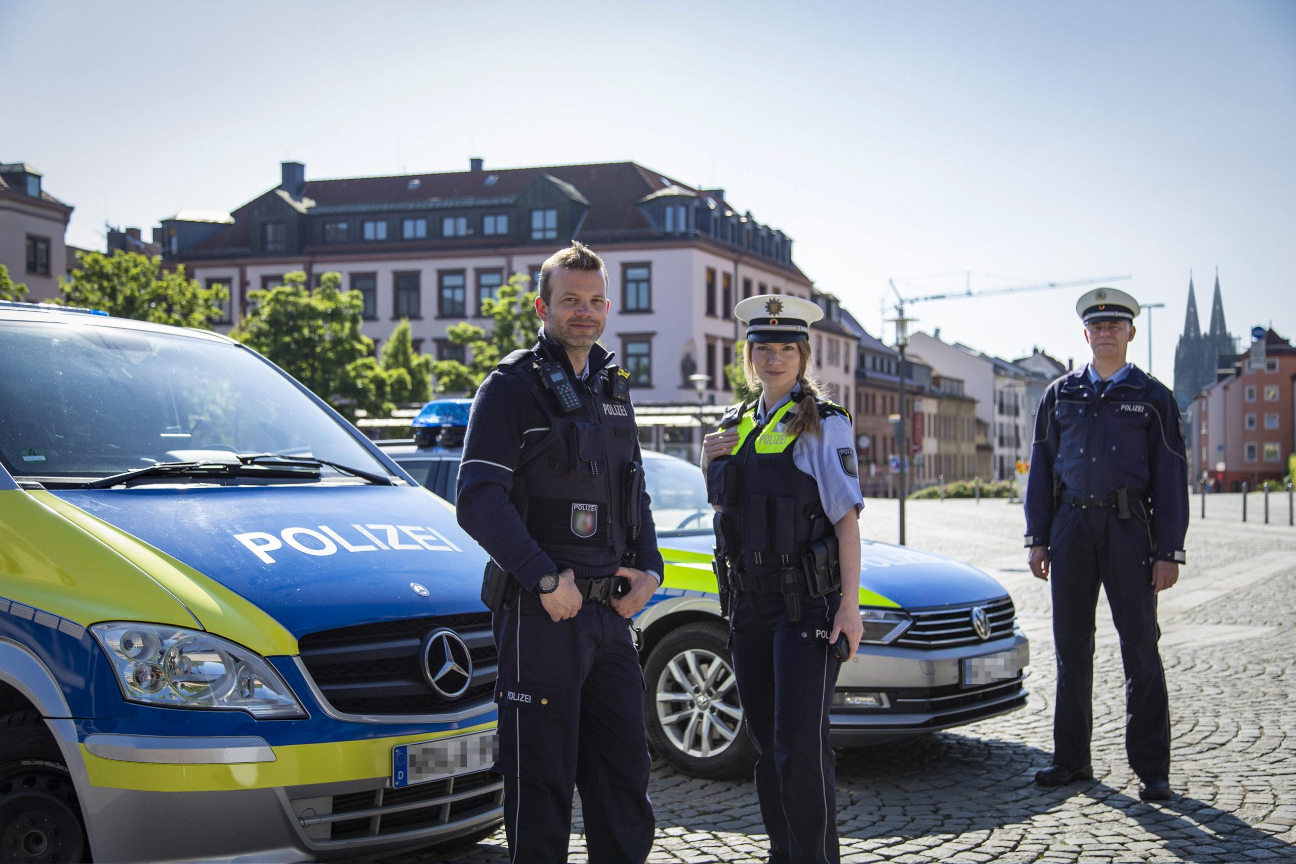 Fotoshooting Polizei Köln